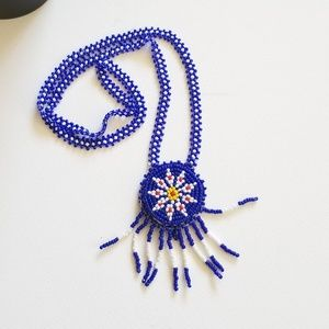 "Native American Necklace 18-22"" Morning Star"